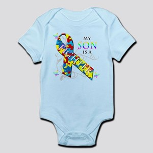 My Son is a Fighter Infant Bodysuit