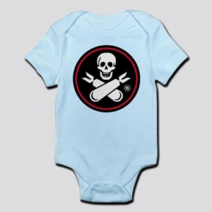 Jolly Rogers Nose Art Infant Bodysuit