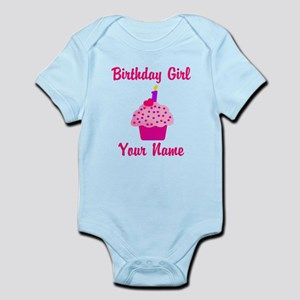 1st Birthday Cupcake Infant Bodysuit