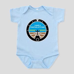 I Have a Positive Attitude Infant Bodysuit