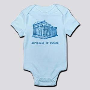 Acropolis of Athens Infant Bodysuit