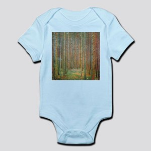 Gustav Klimt Pine Forest Infant Bodysuit