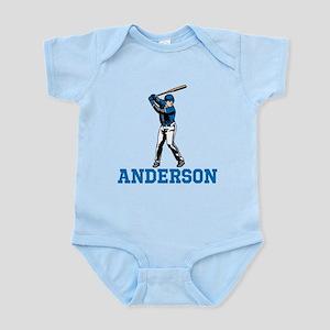Personalized Baseball Infant Bodysuit