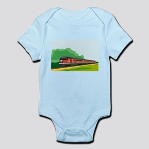 Train Infant Bodysuit