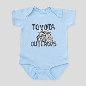 Toyota Outlaws Logo Infant Bodysuit