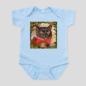 Sable Burmese Xmas, frame 1 Infant Bodysuit
