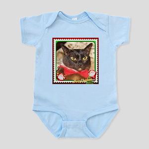 Sable Burmese Xmas, frame 3 Infant Bodysuit
