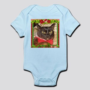 Sable Burmese Xmas, frame 7 Infant Bodysuit