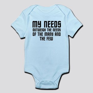 Star Trek Spock Infant Bodysuit
