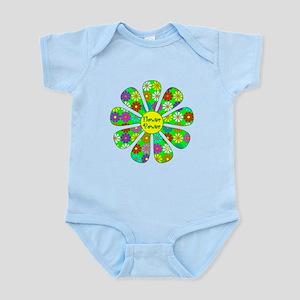 Cool Flower Power Infant Bodysuit