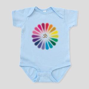 Om Rainbow Flower Body Suit