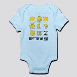 History Of Art By Smiley - Infant Body Suit