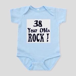 38 Year Olds Rock ! Infant Bodysuit