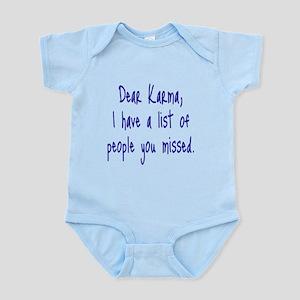 Karma List Body Suit
