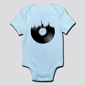 New York City Vinyl Record Body Suit