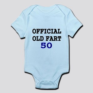OFFICIAL OLD FART 50 Body Suit