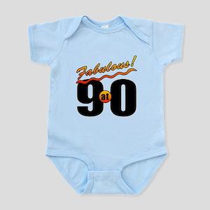 Fabulous At 90 Infant Bodysuit