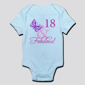 Fabulous 18th Birthday For Girls Infant Bodysuit