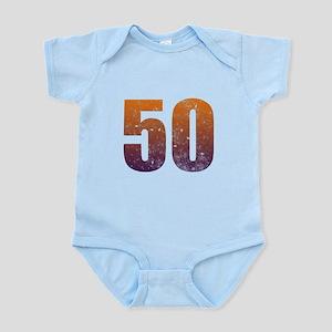 Cool 50th Birthday Infant Bodysuit