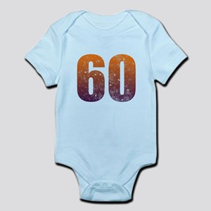 Cool 60th Birthday Infant Bodysuit