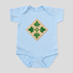 SSI - 4th Infantry Division Infant Bodysuit
