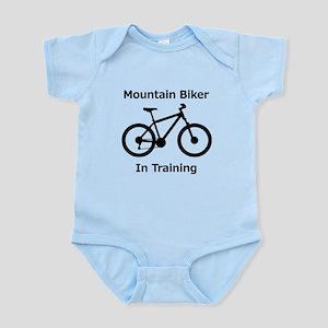 Mountain Biker in training Body Suit