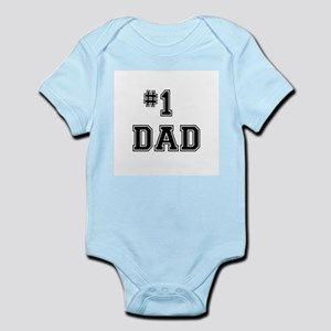 #1 Dad Body Suit
