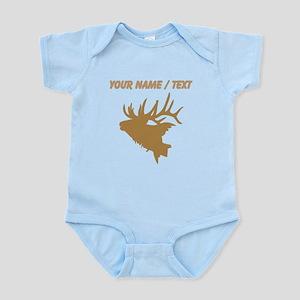 Custom Brown Elk Head Body Suit