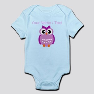 Custom Purple Owl Body Suit