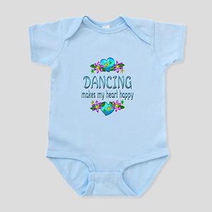 Dancing Heart Happy Infant Bodysuit