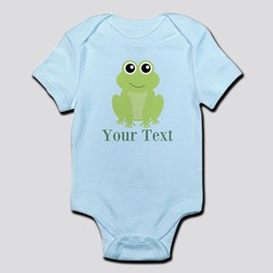 Personalizable Green Frog Body Suit