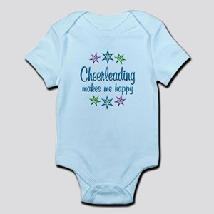 Cheerleading Happy Infant Bodysuit