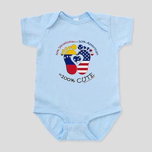 Venezuelan American Baby Body Suit