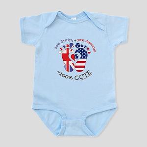 British American Baby Body Suit