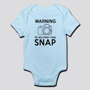 Warning may snap photographer Body Suit