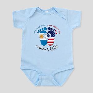 Argentinian American Baby Infant Bodysuit