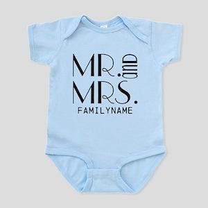Personalized Mr. Mrs. Infant Bodysuit