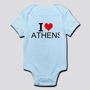 I Love Athens Body Suit