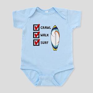Crawl Walk Surf Body Suit