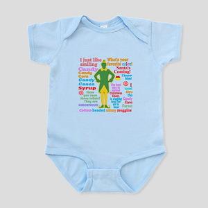 Elf Movie Quotes Infant Bodysuit