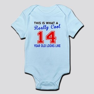 Really Cool 14 Birthday Designs Infant Bodysuit