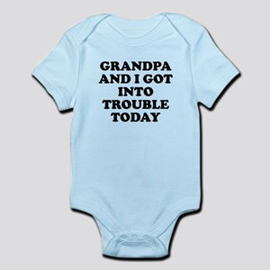 Grandpa And I Got Into Trouble Body Suit