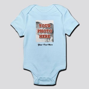 CUSTOM 8x10 Photo and Text Body Suit