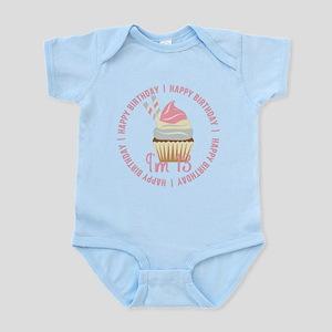 13th Birthday Cupcake Infant Bodysuit