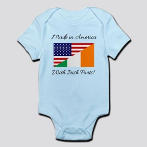 Made in America with Irish Parts Body Suit