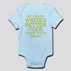 Daddy Codes Better Body Suit