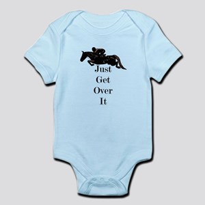 Just Get Over It Horse Jumper Body Suit