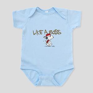 Peanuts Snoopy Like A Boss Infant Bodysuit