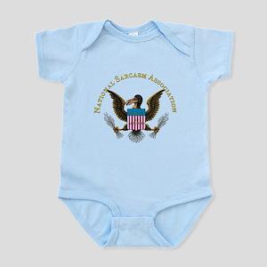 NSA Crest only 6x6 Transparent Body Suit