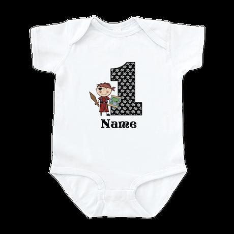 1st Birthday Pirate Infant Bodysuit